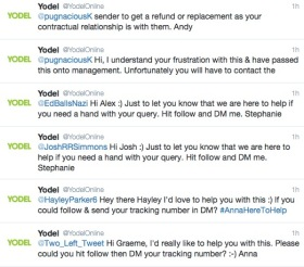Delivering value from social media, or not, A Yodel tale